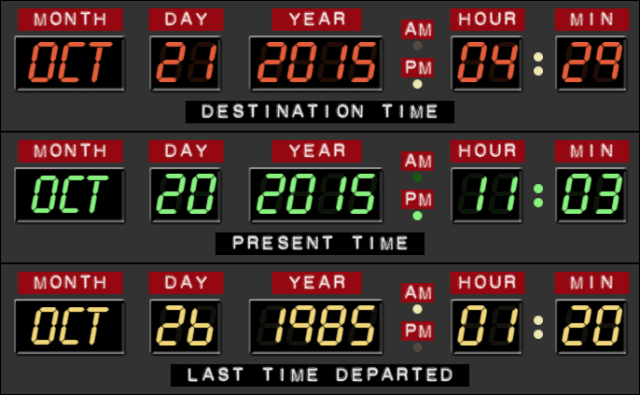 Back to the Future Countdown to October 21, 2015 2015-10-20 23-03-46