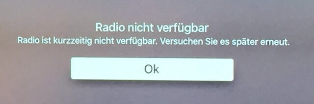 Radio-not-available