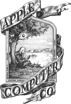 first-apple-logo